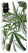 Cannabis Sativa IPhone Case