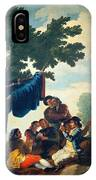 Card Players IPhone Case