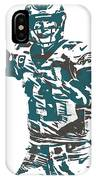 Carson Wentz Philadelphia Eagles Pixel Art 5 IPhone Case