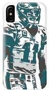 Carson Wentz Philadelphia Eagles Pixel Art 6 IPhone Case