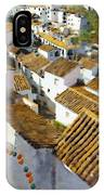 Casares Rooftops IPhone Case