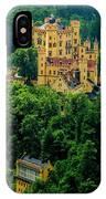Castle Hohenschwangau IPhone Case