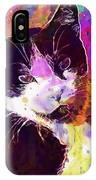 Cat Feline Pet Animal Cute  IPhone Case