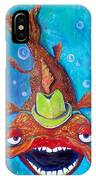 Catfish Clyde IPhone Case