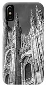 Cathedral Of Milan IPhone Case