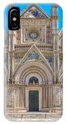Cathedral Of Orvieto, Duomo Di Orvieto, Umbria, Italy IPhone Case