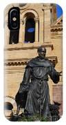 Catholic Cathedral Sante Fe Nm IPhone Case