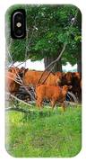 Cattle Herd IPhone Case