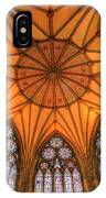 Chapter House York Minster IPhone Case