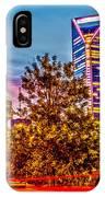 Charlotte City Skyline Early Morning At Sunrise IPhone Case