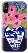 Chinoiserie Vase  IPhone Case