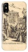 Christ Before Caiaphas IPhone Case