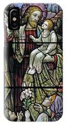 Christ With The Children. IPhone Case