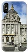 City Hall IPhone Case by Nancy Ingersoll