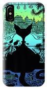 City Kitty IPhone Case