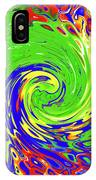 Color Spin IPhone Case