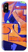 Colorful Abstract Street Art  IPhone Case