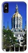 Connecticut State Capitol IPhone Case
