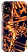 Copper Wirework IPhone Case