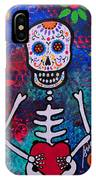 Corazon Day Of The Dead IPhone Case