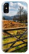Countryside Gate IPhone Case