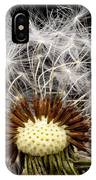 Dandelion Seed IPhone Case