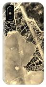 Decayed Lacing IPhone Case