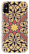 Detail Of Ceiling Arabesques From The Mosque Of El-bordeyny IPhone Case
