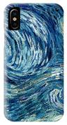 Detail Of The Starry Night IPhone Case