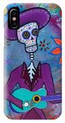 Dia De Los Muertos Mariachi IPhone Case