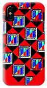 Diamond Red IPhone X Case