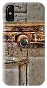 Door Latch IPhone Case