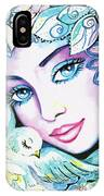 Dove Fairy IPhone Case