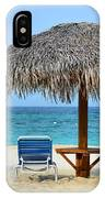 Cayman Down Time IPhone Case