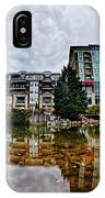 Downtown Of Greenville South Carolina Around Falls Park IPhone Case