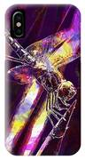 Dragonfly Insect Close  IPhone Case