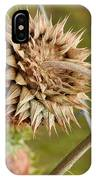 Dried Up Thistle IPhone Case