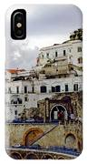 Driving The Amalfi Coast In Italy IPhone Case