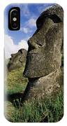 Easter Island Moai IPhone Case