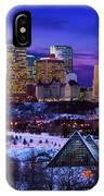 Edmonton Winter Skyline IPhone Case
