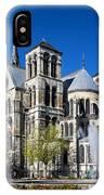 Eglise Notre - Dame En Vaux IPhone Case