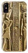 Egyptian Temple Art IPhone Case