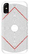 Ehrenstein Illusion IPhone Case