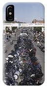 Elevated Panoramic View Of Main Street IPhone Case