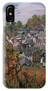 Elevated View Of Bacharach IPhone Case