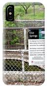 Eliza Springs IPhone Case