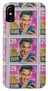 Elvis Commemorative Stamp January 8th 1993 Painted IPhone Case