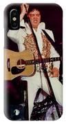 Elvis In Concert IPhone Case