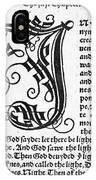 English Bible, 1535 IPhone Case