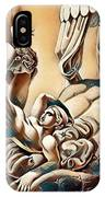 Erotic Abstract Three IPhone Case